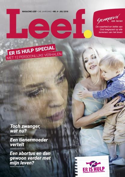Magazine Leef Nummer 4 Juli 2018