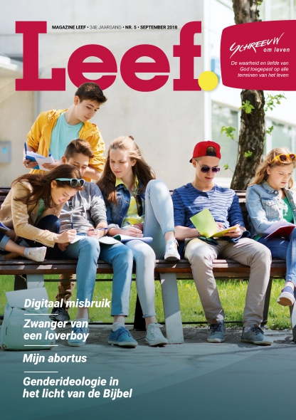 Magazine Leef nummer 5, september 2018